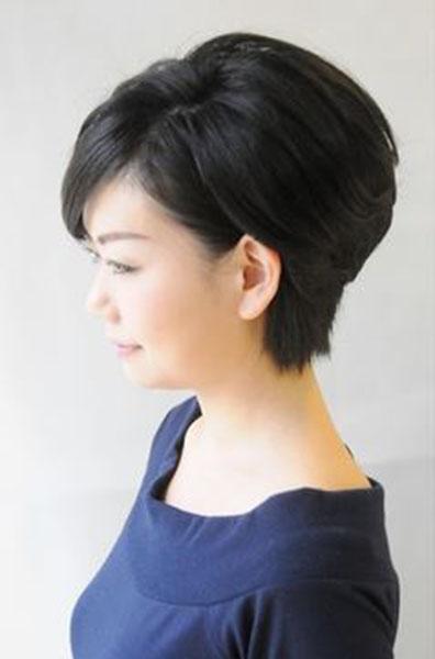 結婚式の席にぴったり50代のショート髪型アレンジ | 【結婚式 ...