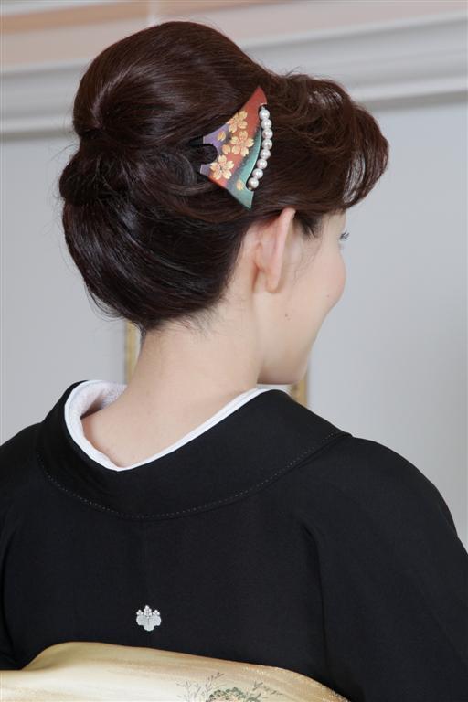 上品で控えめな50代アップの結婚式の髪型 , 【結婚式】髪型