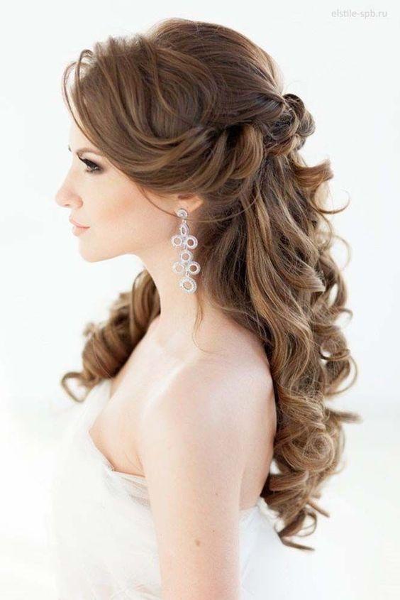 結婚式のゲストにはハーフアップの髪型が一押し!ハーフアップのやり方9選♪